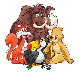 Forest Animals Group