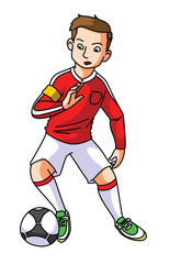 foot ball player