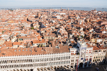 Tetti veneziani, Venezia, Veneto, Italia