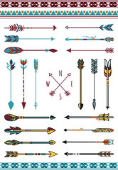 Indian arrows for hipster decor