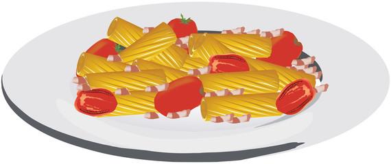 piatto maccheroni