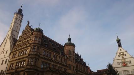 Rathaus und ratstrinkstube rothenburg