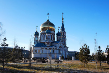 Uspensky Cathedral. Omsk.