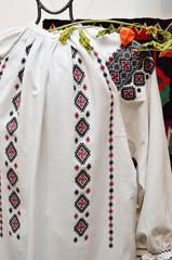 Ukrainian female vyshyvanka