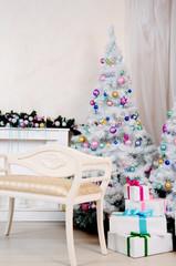 Christmas living room ddecoration
