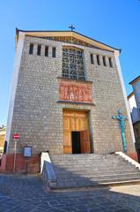 Mother Church of Satriano di Lucania. Italy.