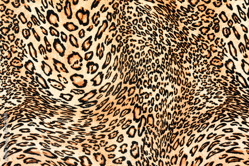 Staande foto Kunstmatig texture of close up print fabric striped leopard