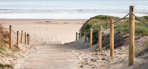 panorámica de playa