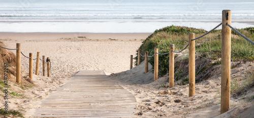 panorámica de playa - 74072287