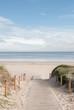 Leinwanddruck Bild - entrada a la playa 02
