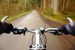 dynamische Radfahrt
