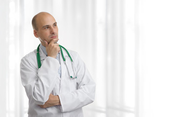 doctor thinking