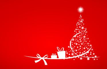 Weihnachtsbaum Sterne Geschenke
