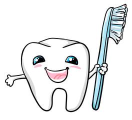 dental design vector. tooth vector