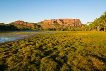 Anbangbang Billabong and Nourlangie Rock, Kakadu, Australia