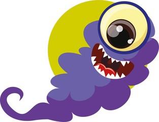 Мультфильм чудовище