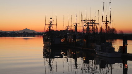 Harbor Sunrise, Steveston