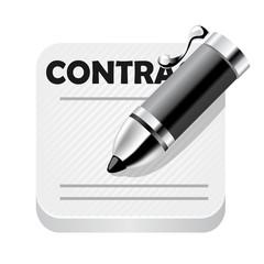 Contraction icon. Vector