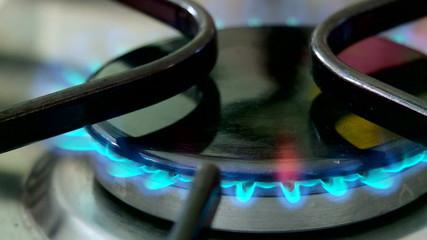 gas stove lighting