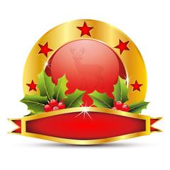 siegel,plakette,kugel,christbaumkugeln,mistel,stechpalme,deko,de