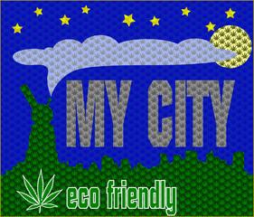 Marihuanna print concept