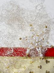 Weihnachten Band Schleife