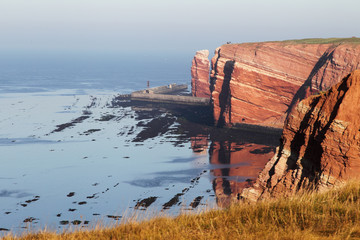 Helgolands Steilküste