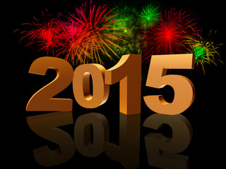 golden new year 2015