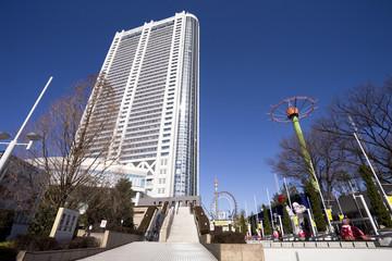 東京ドームホテルと後楽園