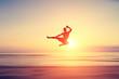 abstract flying kick - 74086017