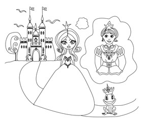 Princess dreams of a prince