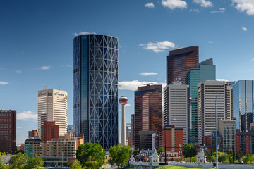 Skyline Calgary Canada