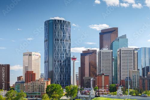 Fotobehang Canada Skyline Calgary Canada