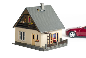 Дом и машина