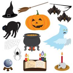 Halloween vector collection