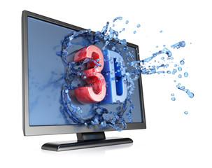 3D TV concept