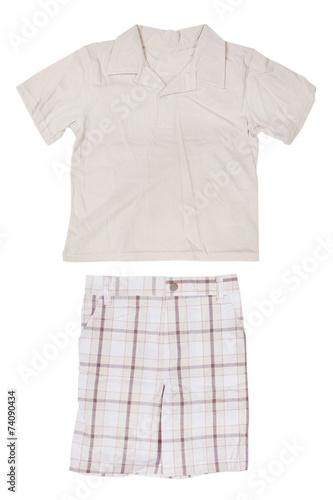 Children's wear - shirt and shorts - 74090434