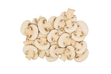Beautiful mushroom slices