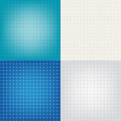 Set technical paper background grid illustration EPS10