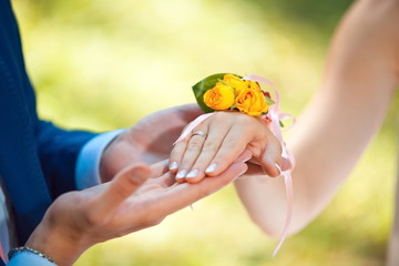 marriage proposal, wedding ring on wedding