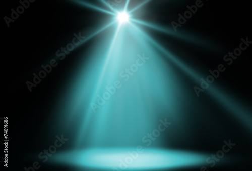 canvas print picture stage spot light