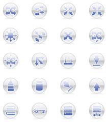 Network Topology Icon Set
