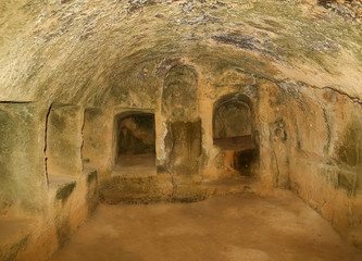 Interior in Paphos Tombs of the Kings