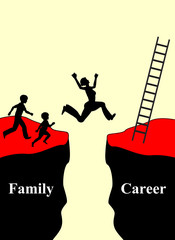 Family and Career, the conflict of compatibility