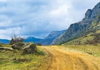 South Demirci in Crimean Mountains.