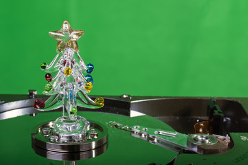 Hard disk natalizio