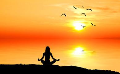 espiritualidad frente al sol