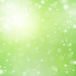 Grüner Hintergrund mit Sternen