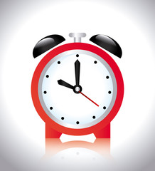 Time design over white background vector illustration