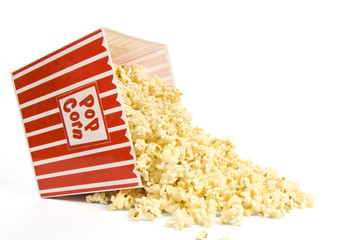 Spilled Bucket of Popcorn